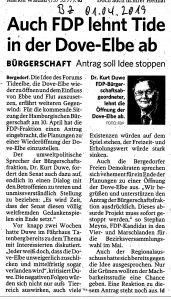 Dove Elbe - Tide Elbe - Dr Duve - BZ 01042019